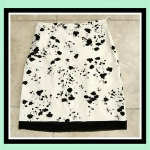 Elements G Skirts - ELEMENTS Modern Paint Splatter Pencil Midi Skirt